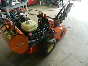 2010 Ditch Witch Rt12 Trencher Great Condition