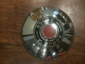 1951 Dodge Meadowbrook Hubcap Dog Dish 1 Cap Mopar Wheel Cover Nice Condition