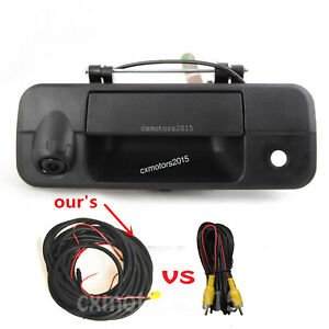 For 2007 2014 Toyota Tundra Tailgate Handle Rear View Reversing Back Up Camera