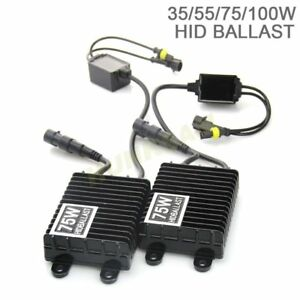 35w 55w 75w 100w Hid Xenon Canbus Ballast Digital Super Slim Replace Car Ac dc