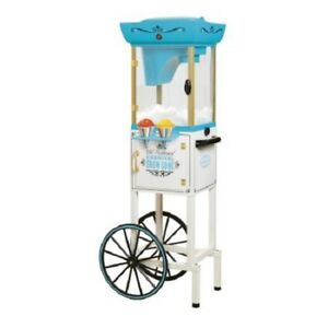 Snow Cone Machine Commercial Shaved Ice Cart Snowballs Concession Shaving Cone