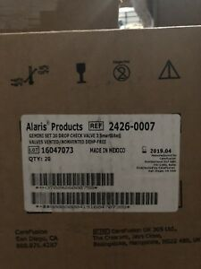 Alaris Carefusion 2426 0007 Gemini Set 13 Pc Drop Check Valve Smartsite