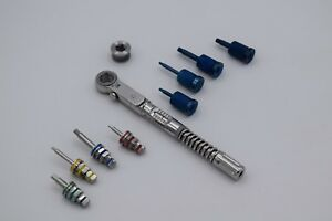 Universal Dental Implant Torque Wrench 10 50 Ncm With Hand Drivers