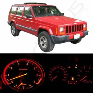 For Jeep Cherokee Xj 1997 2001 Led Dash Instrument Gauge Conversion Light Kit