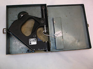 Federal Products 1330p 101 1 2 Od Snap Gage W Testmaster 0001 Dial Gage
