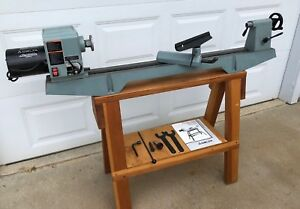 Delta Wood Lathe 12 Variable Speed 46 700 With Custom Wood Stand