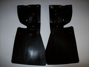 1984 1988 84 88 Toyota 2wd Pickup Truck Rear Mud Flaps Splash Guards W Brackets