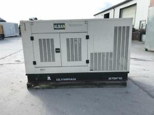 __63 Kw Olympian Generator 12 Lead Reconnectable Weather Proof Enclosure