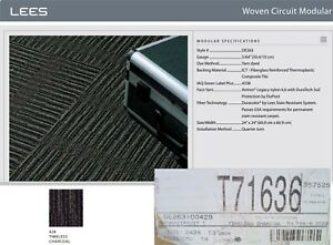 Mohawk Duracolor Commercial High Traffic Modular Carpet Tiles 56sf Charcoal Gray