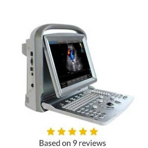 Demo Chison Eco5vet Portable Ultrasound With One Probe Warranty Active