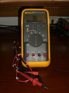 Fluke 87 Iii True Rms Digital Multimeter passes Fluke Performance Verification