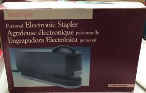 Boston Personal Electric Stapler 20 sheet New