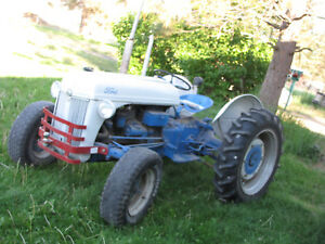 Good Used 9n Ford 2wd Gas Tractor Switched To 12 Volt