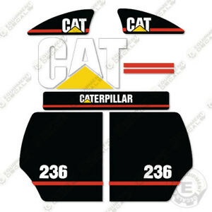 Caterpillar 236 Decal Kit Equipment Decals Older Style 2003