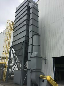 Wheelabrator Dust Collector Baghouse 10000 Cfm used