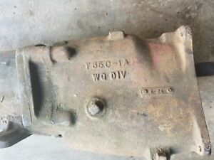 T85 Borg Warner Transmission 1955 1965 With R11 Electric Overdrive Unit