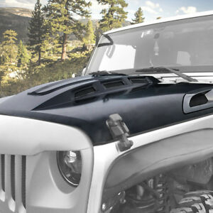 Jeep Wrangler Hood Avg Steel Hood Scoop Vent Wrangler Unlimited Jk 2007 2018