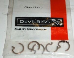 Snap Ring Kit Jga 14 K5 By Devilbiss