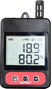 Apresys Temperature Humidity Data Logger 179 thl Measuring Range 30 To 70