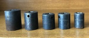 Snap On Tools 1 2 Dr 6 Point Shallow Impact Socket Im360 1 1 8 To Im200 5 8