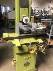 Gear Shaper Cutters Surface Grinder Mode Reid L 618h With Rotary Table