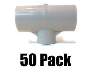 50 Pvc Tee Fittings 1 2 Automatic Chicken Poultry Water Drinker Cup Nipple