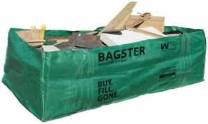 Wm Bagster Dumpster In A Bag Trash Waste Debris 606 gallon 3 300 Lbs Capacity