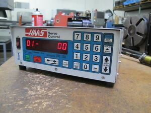 Haas Servo Control For Brush Drive Rotary Tables