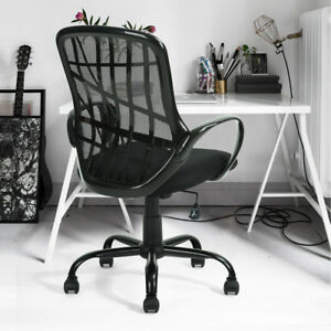 Mesh Middle Back Office Chair Modern Ergonomic Computer Desk Swivel Chair Seat