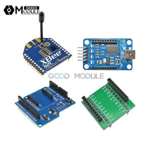 Xbee Wireless Controller S2 2m With Usb Adapter Bluetooth Bee Ft232rl Shield V3