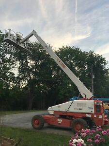 Snorkel Pro66 4x4 Boom Aerial Man Lift Dual Fuel With Jib
