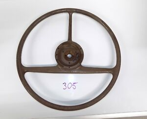 1941 1942 Packard 110 120 Tri T Spoke Steering Wheel
