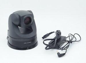 Sony Evi d70p Camera Color Ptz Conference Surveillance Cctv Webcam W Ac Adapter