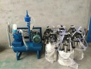 sea Shipped Pail Milking Machine Milk 8 Cows At Once Factory Direct