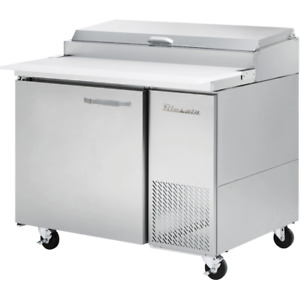 Blue Air Commercial 45 Refrigerated Pizza Prep Table 11 3 Cu Ft