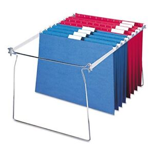 Smead Heavy Gauge Steel Hanging Letter File Folder Drawer Frames 2pk