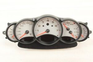 Porsche 996 Carrera 911 Manual Speedometer Instrument Cluster Gauge 6 Speed Awd