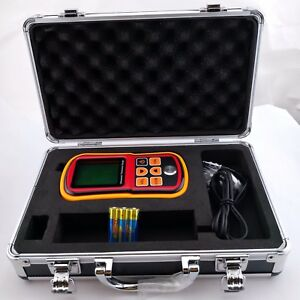 Ultrasonic Thickness Meter Tester Gauge Velocity 1 2 225mm Metal Gm 100 Digital