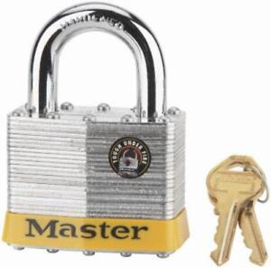 2 1 2 Wide High Security 5 Pin Padlock 1 1 4 Shackle Only One