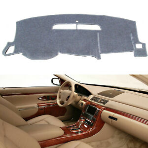Dash Cover Mat Carpet For 2008 2013 Chevy Silverado 1500 2500hd 3500 3500hd Gmc