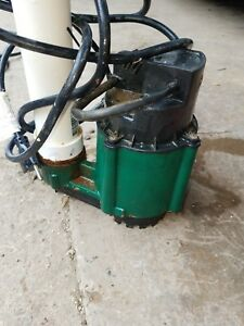 Zoeller Wm48 1 4 Hp Cast Iron Submersible Sump Pump W Tether Float Switch