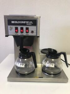 Bloomfield Koffee King 3 Warmer 8571 Stepped Pourover Coffee Brewer Machine