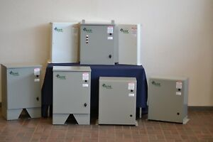 Power Factor Correction Capacitors 240v And 480v All 3ph Non fused Or Fused