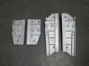 69 Mustang Shelby Mach 1 Grande Xr7 Glue In Door Glass Brackets One Year Only