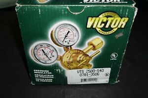 Victor 0781 3506 Vts250d 540 Professional Two Stage Medium Capacity Regulator
