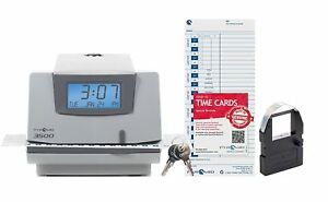 Pyramid 3500 Multi purpose Time Clock And Document Stamp Made I
