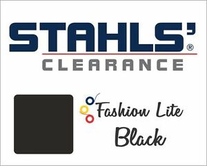 15 X 50 Yards Stahls Fashion lite Heat Transfer Vinyl Htv Black