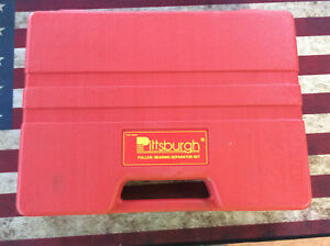 Pittsburgh 93980 Puller Bearing Separator Set Complete In Case Great Shape