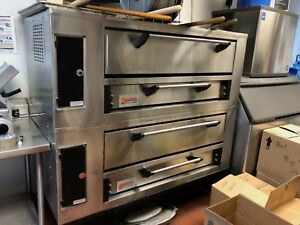 Marsal Sd248 Dual Stack Pizza Oven