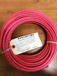 Solar Photovoltaic Wire 12awg Str 100ft red pink 2k Volt Ul4703 made In Usa